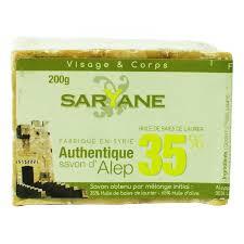 Sapun traditional Alep 35% ulei de dafin, 200 g - SARYANE