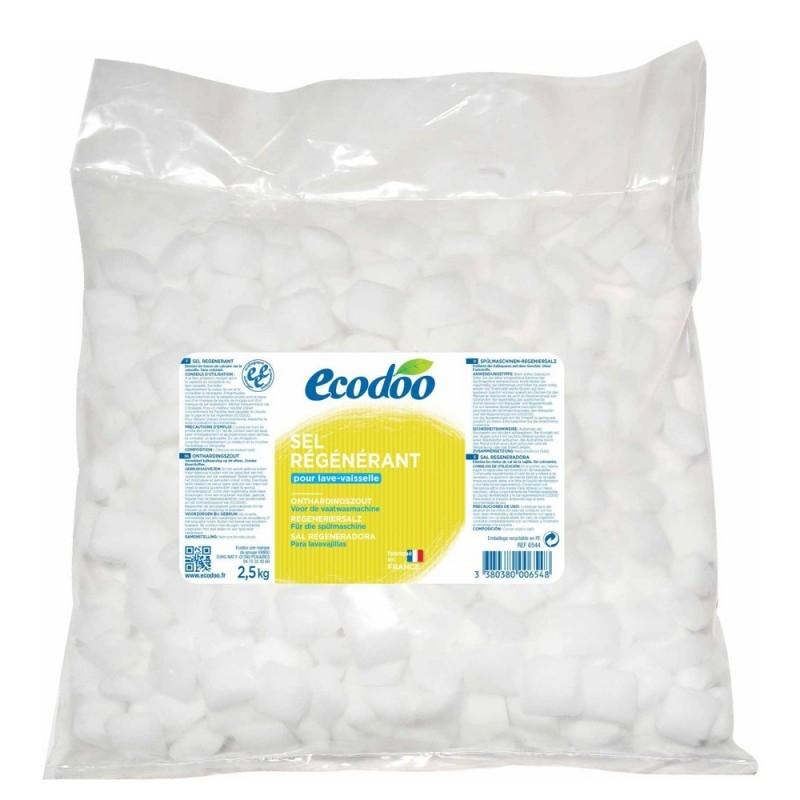 Sare anti-calcar regeneranta pentru masina de spalat vase, 2.5 kg - Ecodoo