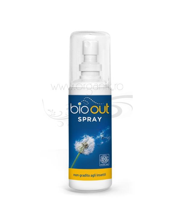 Spray repelent bio antitantari si insecte, 100 ml - Bio Out
