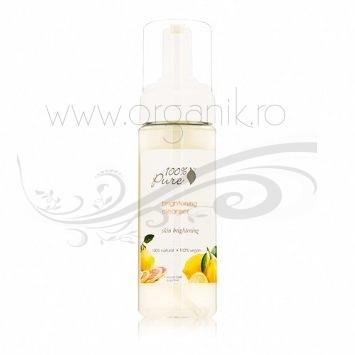 Spuma demachianta cu efect de luminozitate - 100 Percent Pure Cosmetics