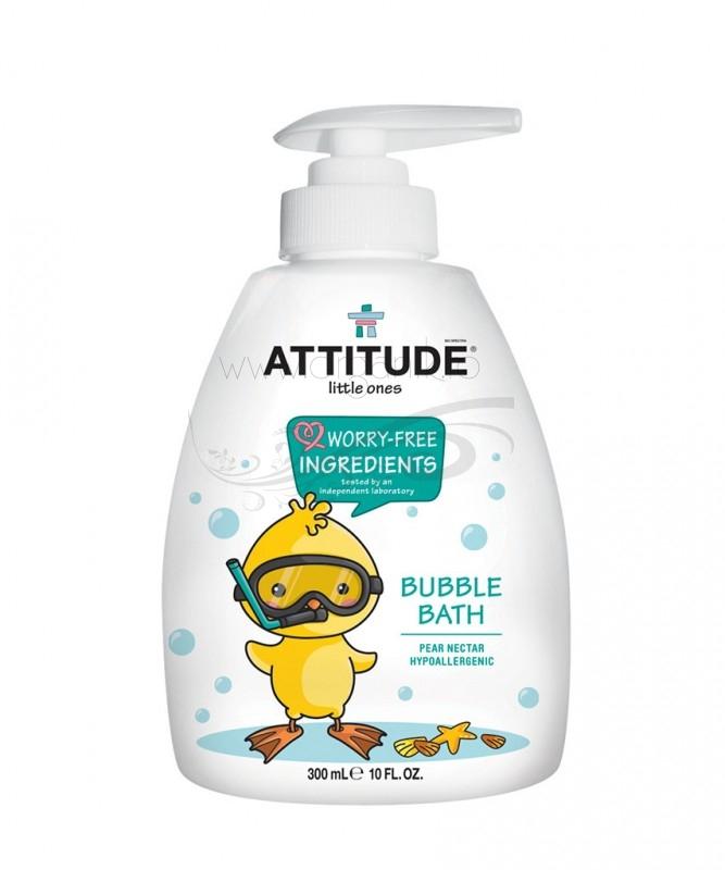 Spumant de baie pentru copii, aroma Nectar de Pere, 300 ml - ATTITUDE