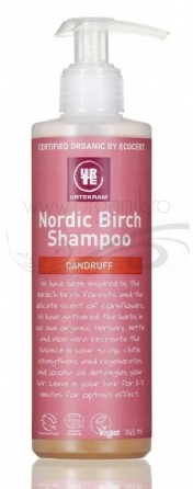Sampon bio antimatreata cu mesteacan Nordic Birch, 245 ml - URTEKRAM