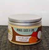 Unt de corp spumos Mango, Cocos si Lime, 120 ml - Jovis Homemade Beauty