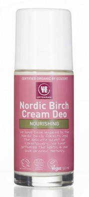 Deo roll-on crema cu mesteacan Nordic Birch - URTEKRAM