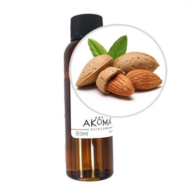 Ulei de migdale dulci certificat organic, 60 ml - Akoma Skincare