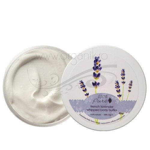 Unt pentru corp French Lavender - 100 Percent Pure Cosmetics