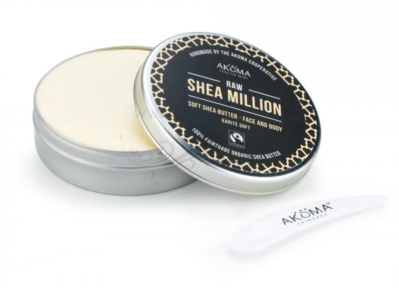 Unt de shea nerafinat extra soft Shea Million, 50 ml - Akoma Skincare