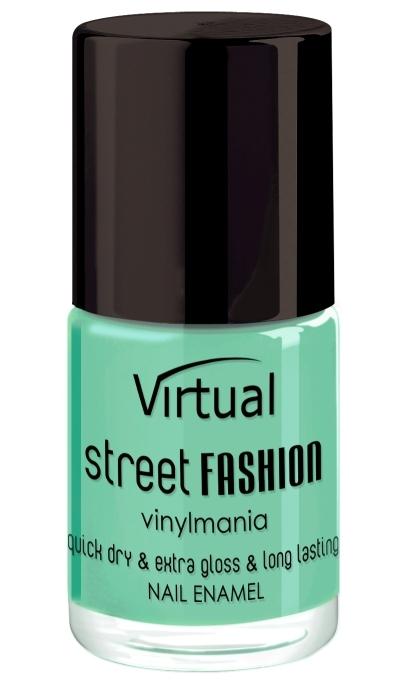 Lac de unghii Mint Cocktail 7 - Virtual Street Fashion