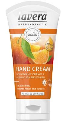 Crema de maini cu portocale si catina, piele normala sau uscata - LAVERA