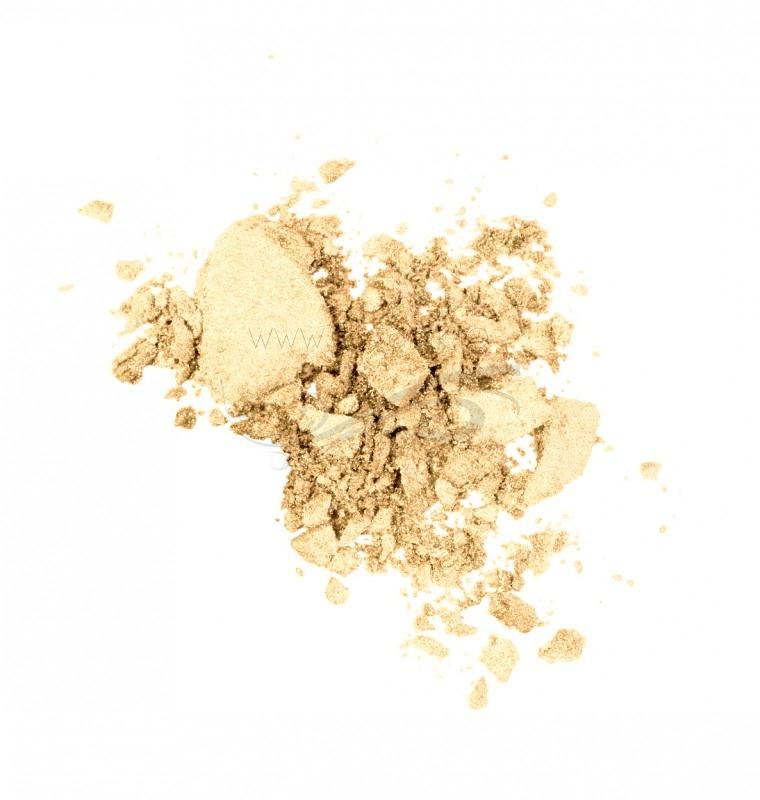 Fard de pleoape iluminator wet & dry, Vibrant Gold 05 - LAVERA