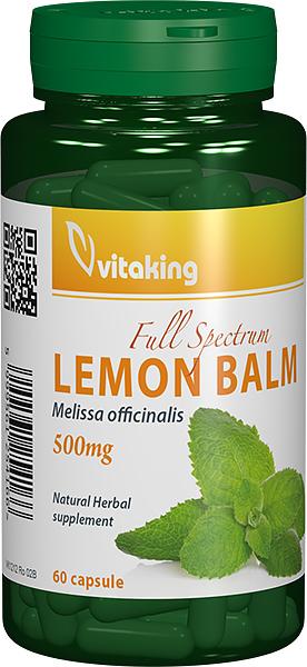 Roinita (Lemon balm) 500mg, 60 cps - Vitaking
