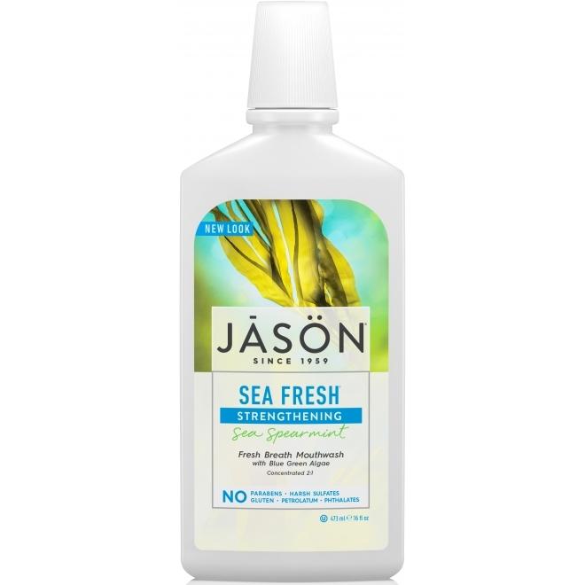 Apa de gura Sea Fresh, pentru detoxifierea si intarirea gingiilor si dintilor - Jason