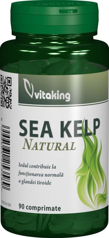 Sea Kelp (alga marina), 90 comprimate - Vitaking