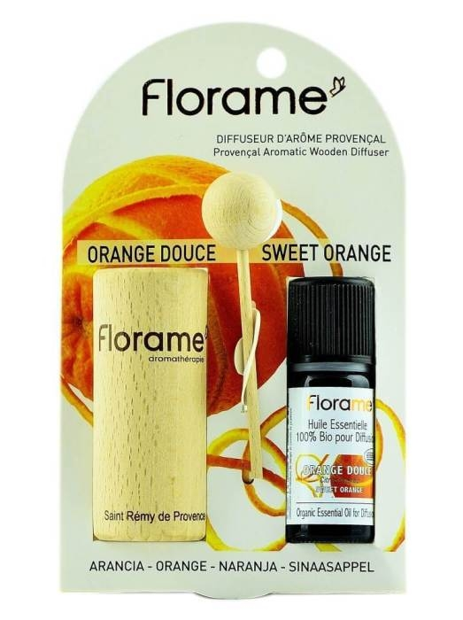 Difuzor Provencal & Ulei esential BIO de portocala (10ml)  - Florame