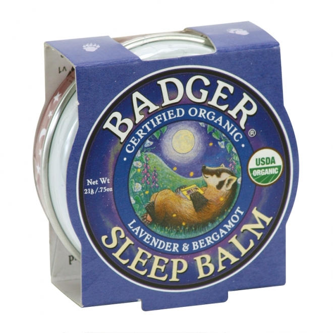 Mini balsam organic pentru un somn linistit Sleep Balm, 21g -  Badger