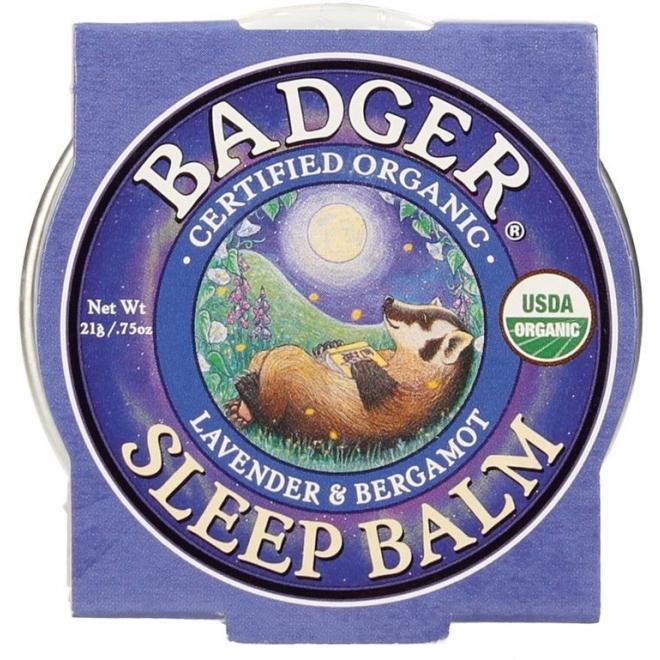 Balsam organic pentru un somn linistit Sleep Balm, 56g -  Badger