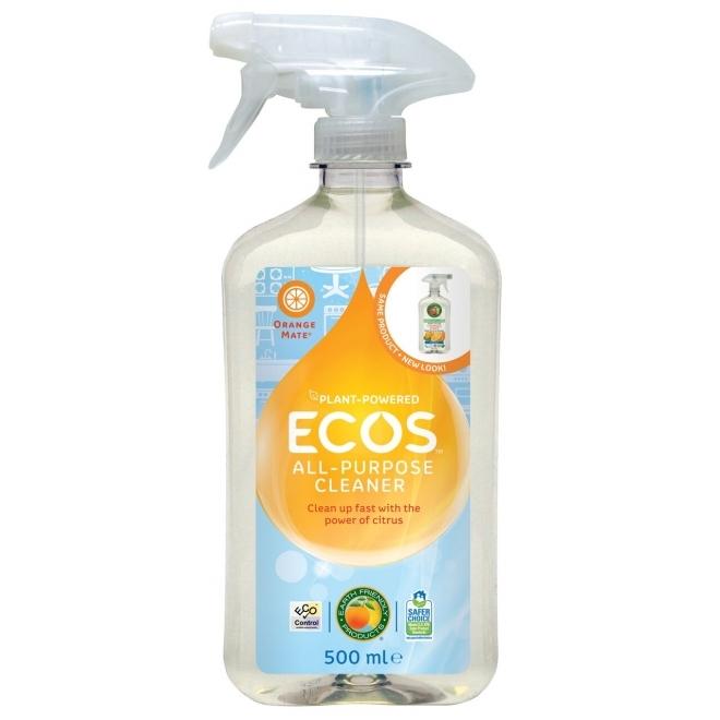 Solutie de curatare toate suprafetele cu citrice, spray 500 ml - ECOS