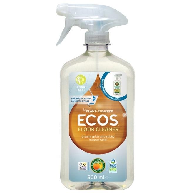 Solutie pentru curatat podele si mobila Lamaie & Salvie, 500 ml - ECOS