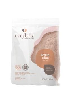 Pudra de argila roz ultra-ventilata pentru ten sensibil, 200g - Argiletz