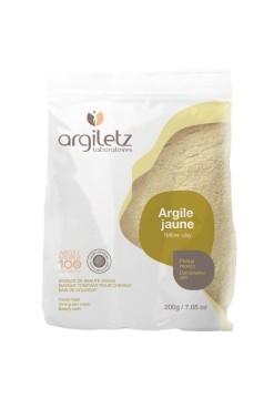 Pudra de argila galbena ultra-ventilata pentru ten mixt, 200g - Argiletz