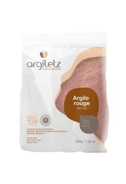 Pudra de argila rosie ultra-ventilata pentru ten uscat, 200g - Argiletz