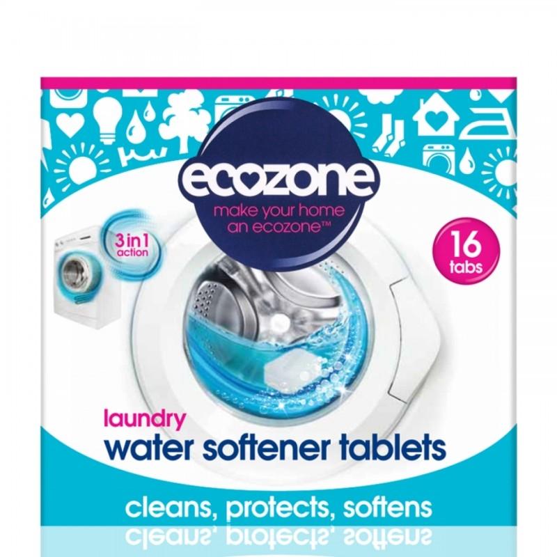 Tablete anticalcar 3 in 1 pentru masina de spalat rufe, 16 buc - ECOZONE