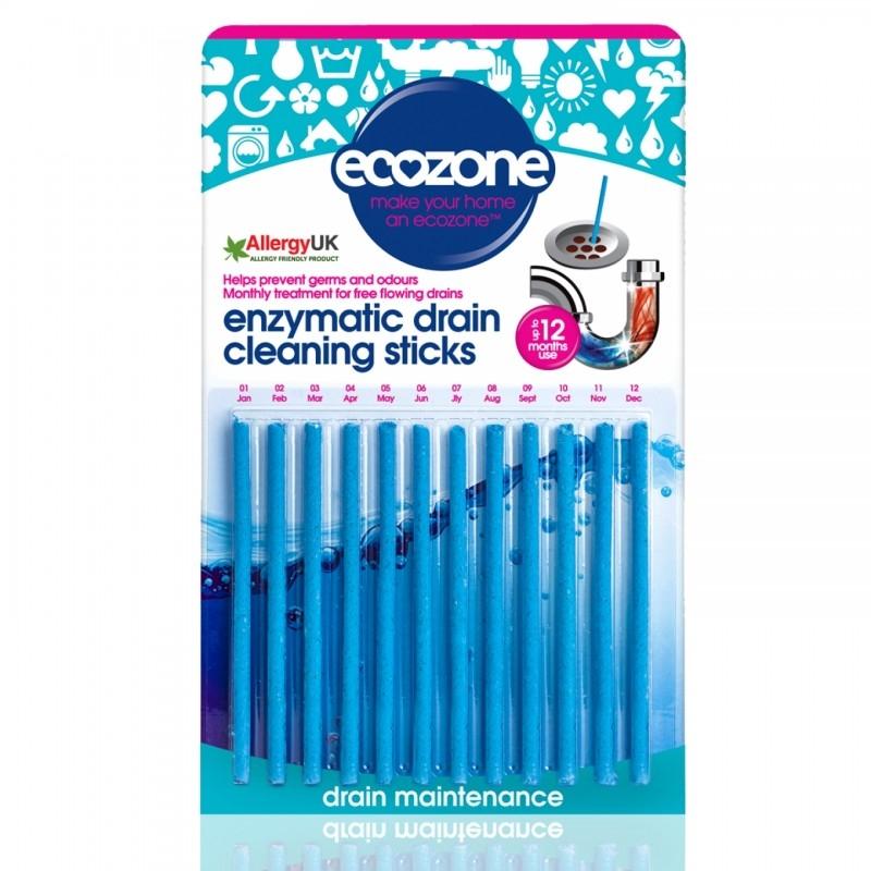 Stick pentru desfundarea tevilor si eliminarea mirosului neplacut, 12 buc - ECOZONE