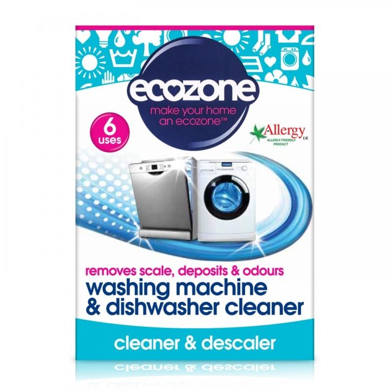 Tablete pentru curatarea masinii de spalat rufe si vase, 6 buc - ECOZONE