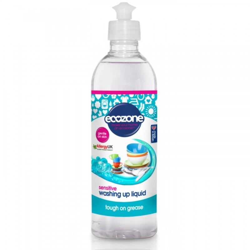 Detergent pentru vase si biberoane Sensitive, 500 ml - ECOZONE