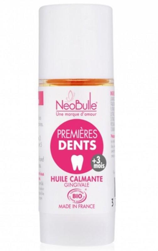 Ulei calmant pentru eruptii dentare, 9 ml - Neobulle