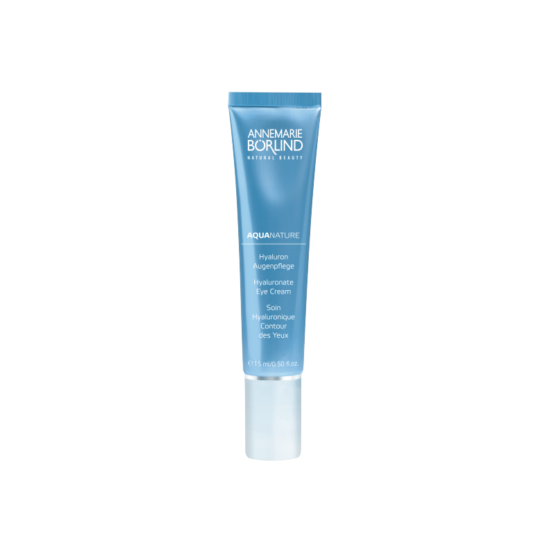 Aquanature Crema ochi antiage cu acid hialuronic, 15 ml - Annemarie Borlind