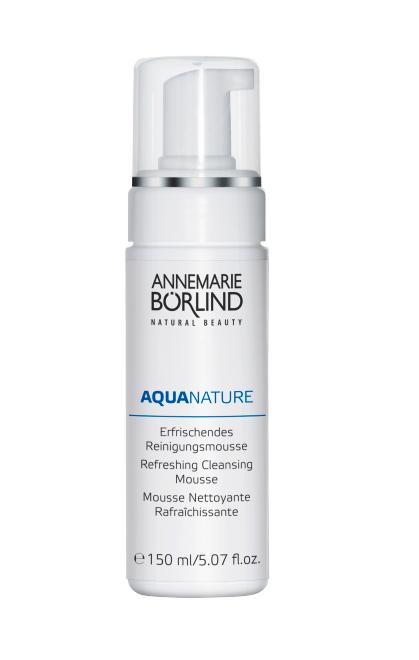 Aquanature Spuma demachianta cu acid hialuronic, 150 ml - Annemarie Borlind