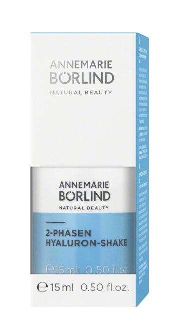 Hyaluron-Shake ser bifazic hidratant, travel size 15ml - Annemarie Borlind