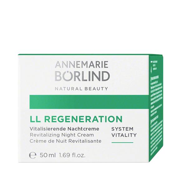 LL Regeneration Crema de noapte regeneranta pentru primele riduri, 50 ml - Annemarie Borlind