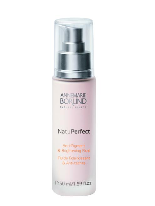NatuPerfect Fluid iluminator si anti-pigment, 50 ml - Annemarie Borlind