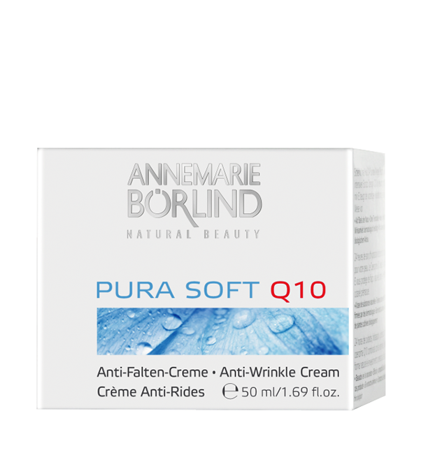 Pura Soft Crema antirid cu coenzima Q10, 50 ml - Annemarie Borlind