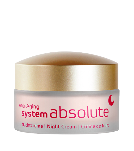 System Absolute Crema de noapte anti-ageing, 50ml - Annemarie Borlind