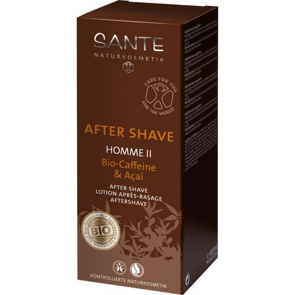 After shave bio cafeina si acai, Homme II - SANTE NATURKOSMETIK