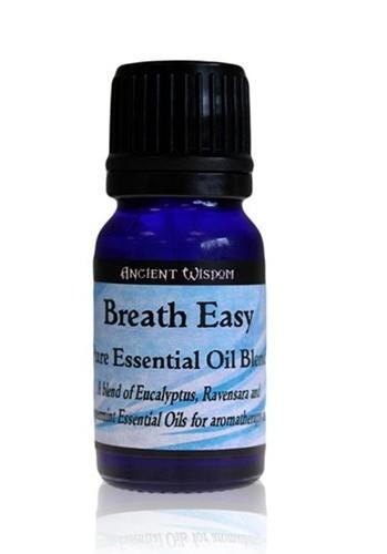 Amestec de uleiuri esentiale Breath Easy (eucalipt, ravensara, menta) 10ml - Ancient Wisdom