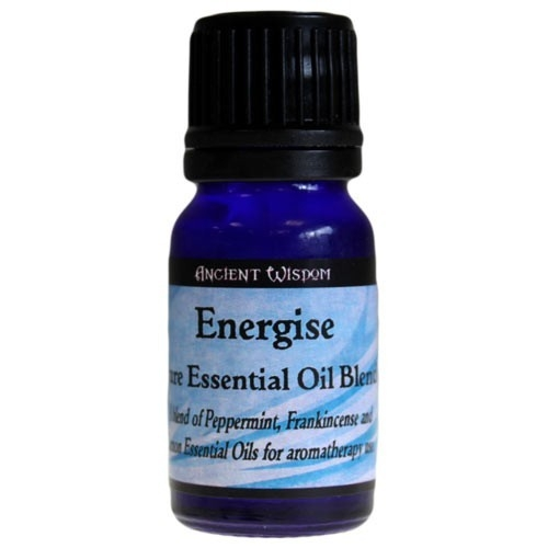 Amestec de uleiuri esentiale Energise (lamaie, menta, tamaie) 10ml - Ancient Wisdom