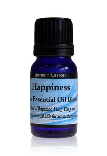 Amestec de uleiuri esentiale Happiness (bergamot, ylang ylang, grapefruit) 10ml - Ancient Wisdom