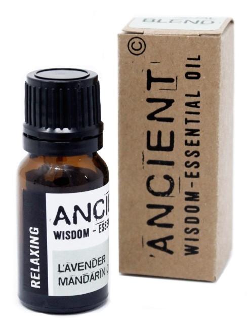 Amestec de uleiuri esentiale Relaxing (lavanda, mandarina) 10ml - Ancient Wisdom Premium