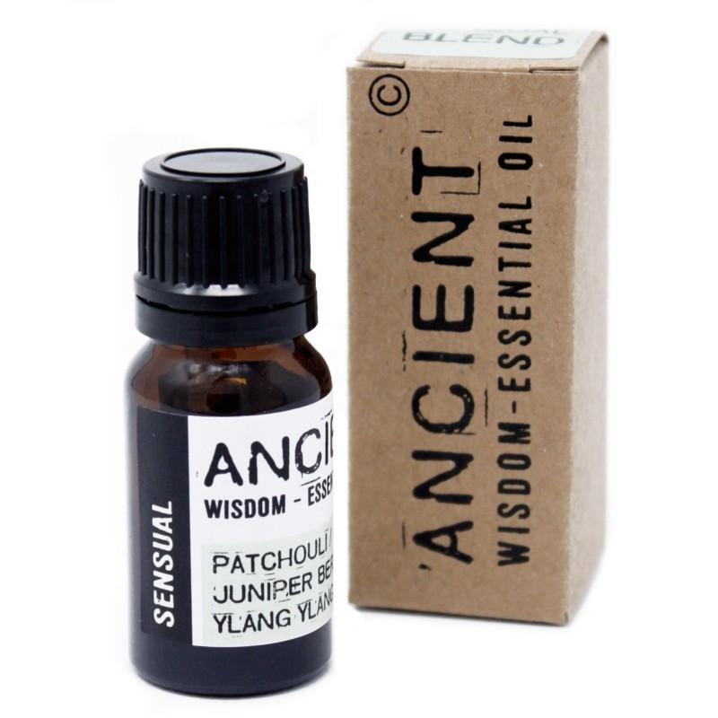 Amestec de uleiuri esentiale Sensual (patchouli, ienupar, ylang ylang) 10ml - Ancient Wisdom Premium