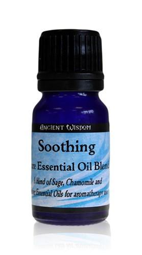 Amestec de uleiuri esentiale Soothing (musetel, salvie, vetiver) 10ml - Ancient Wisdom