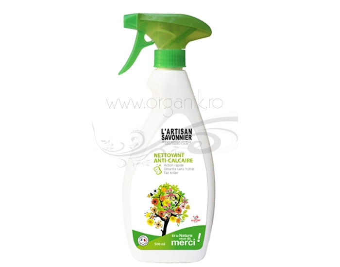 Spray ecologic anticalcar, 500 ml - ARTISAN SAVONNIER
