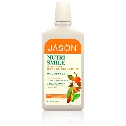 Apa de gura Nutrismile, pentru prevenirea tartrului si cariilor- Jason