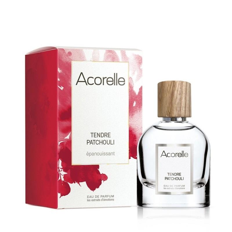 Apa de parfum bio Tendre Patchouli, 50 ml - Acorelle