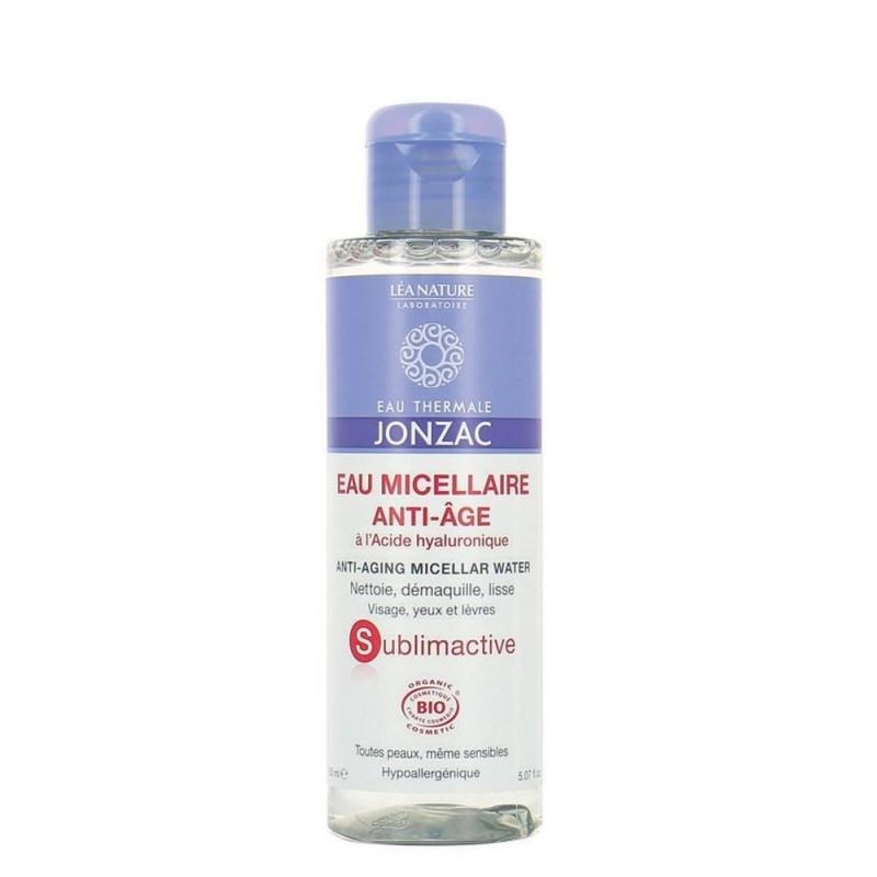 Apa micelara bio anti-age cu acid hialuroinic Sublimactive, 150 ml - JONZAC