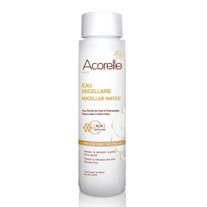 Apa micelara bio cu polen si propolis, 150 ml - Acorelle