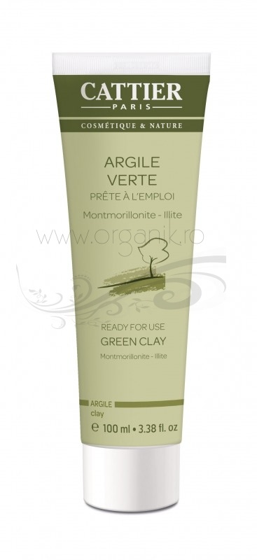 Argila verde Montmorillonite preparata, 100 ml - CATTIER
